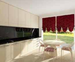 Inan AYDOGAN /IA  Interior Design Office – 15300 Misia Residence: modern tarz Mutfak