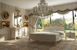 Inan AYDOGAN /IA  Interior Design Office – AVANGARDE BEDROOM: klasik tarz tarz Yatak Odası