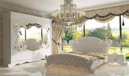 classic Bedroom by Inan AYDOGAN /IA  Interior Design Office