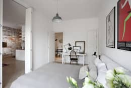 Projekty,  Sypialnia zaprojektowane przez cs