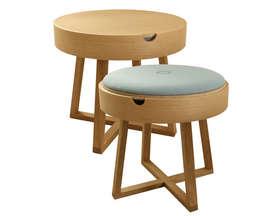 Not just a table: minimalistische Wohnzimmer von Nordic function