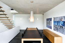 Projekty,  Jadalnia zaprojektowane przez Maisons Loginter