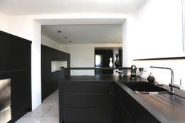 Projekty,  Kuchnia zaprojektowane przez Neugebauer Architekten BDA