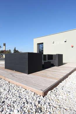 Projekty,  Taras zaprojektowane przez Neugebauer Architekten BDA