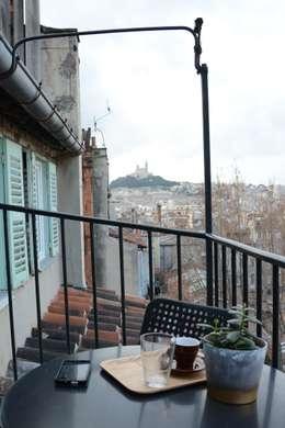 Le balcon: Terrasse de style  par Insides