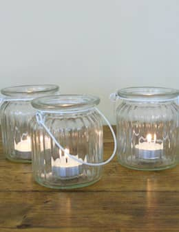 Glass Tea Light Jar:  Haushalt von homify