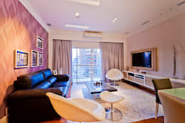 Sala de Estar: Salas de estar modernas por Enzo Sobocinski Arquitetura & Interiores