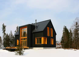 scandinavian Houses by Snegiri Architects
