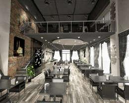StellaStil İç Mimarlık – Kahvelium Kahve Evi & Bistro:  tarz Yeme & İçme