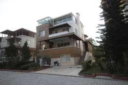 DerganÇARPAR Mimarlık  – AHMET ASLI İLHAN EVİ : akdeniz tarzı tarz Evler