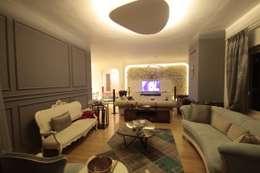 classic Living room by DerganÇARPAR Mimarlık