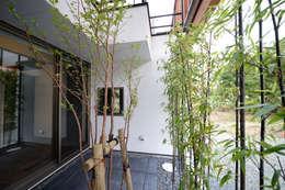 brise_soleil: ANTENNA DESIGNが手掛けた庭です。