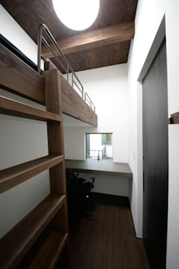 brise_soleil: ANTENNA DESIGNが手掛けた子供部屋です。