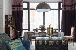 «Ягодная» дача: Столовые комнаты в . Автор – Atelier Interior