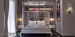 غرفة نوم تنفيذ Origami Mobilya
