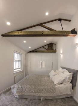 Projekty,  Sypialnia zaprojektowane przez R+L Architect