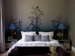 Violet & George: modern tarz Yatak Odası