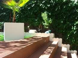 Jardines de estilo moderno por Palos en Danza