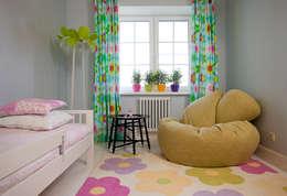 Утро в саду: Детские комнаты в . Автор – Luda Krishtaleva