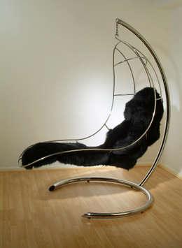 Recámaras de estilo industrial por Nirvana Chairs