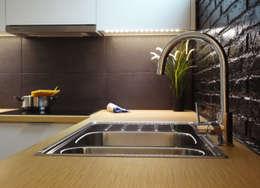 Cocinas de estilo moderno por davidMUSER building & design