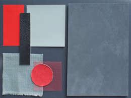 Penthouse: minimalistische Woonkamer door CioMé