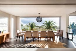 modern Dining room by D-Max Photography