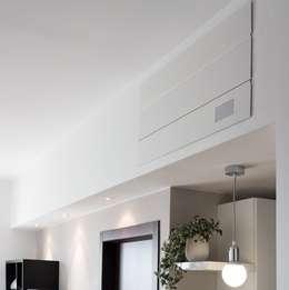 Particolare Alasplit: Soggiorno in stile in stile Moderno di gk architetti  (Carlo Andrea Gorelli+Keiko Kondo)