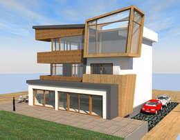 DerganÇARPAR Mimarlık  – Gökhan GÖÇMEN villası İskenderun : modern tarz Evler