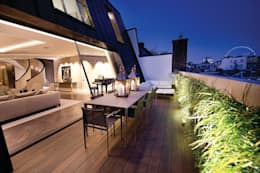 Trafalgar One, Canadian Pacific Building, London:  Terrace by moreno:masey