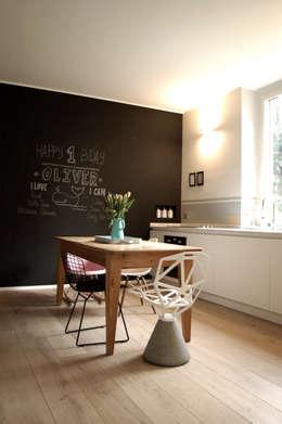 Private Flat: Cucina in stile in stile Scandinavo di Moodern