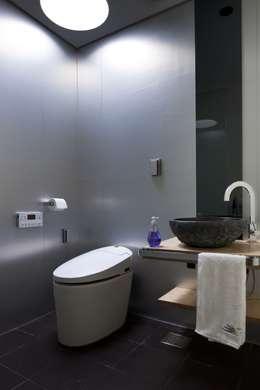 욕실(2): ARCHITECT GROUP CAAN의  화장실