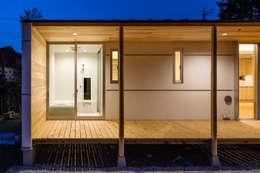 modern Bathroom by 株式会社 中山秀樹建築デザイン事務所