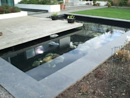 Projekty,  Ogród zaprojektowane przez Aquajoy water gardens ltd