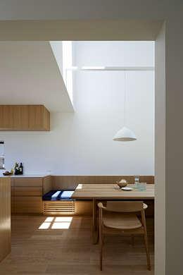 佐々木達郎建築設計事務所: modern tarz Yemek Odası