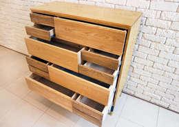 complex steel drawer: Design-namu의  드레싱 룸