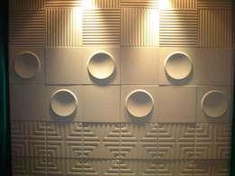 Artwall: 가건대리석의  벽 & 바닥