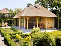 Terrace by Rasenberg exclusieve tuinpaviljoens & eiken gebouwen b.v.