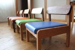 Child chair: trusty wood worksが手掛けた子供部屋です。