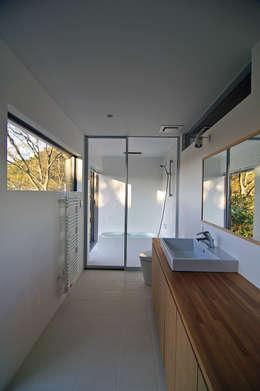 株式会社横山浩介建築設計事務所의  화장실