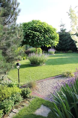 Ogród po zmianach: styl , w kategorii  zaprojektowany przez Garden Idea - Projektowanie Ogrodów