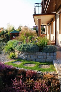 Słoneczny taras: styl , w kategorii  zaprojektowany przez Garden Idea - Projektowanie Ogrodów
