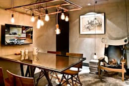 industrial Study/office by 1:1 arquitetura:design