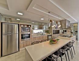 Cozinha/ Espaço gourmet: Cozinhas modernas por Espaço do Traço arquitetura