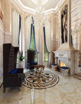 Projekty,  Salon zaprojektowane przez Y&S ARCHITECTURE – INTERIOR DESIGN