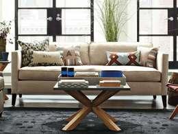 Salas de estilo minimalista por homify