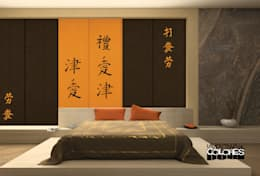 asian Bedroom by LA VENTANA DE COLORES