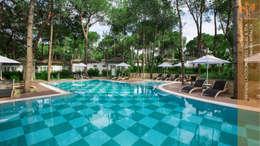 Nota Tasarım Peyzaj Mimarlığı Ofisi – Lagoon Villas: akdeniz tarzı tarz Bahçe