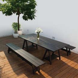WORKSHOP: Jardin de style de style Moderne par By Ultra