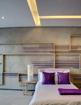 moderne Slaapkamer door Nico Van Der Meulen Architects